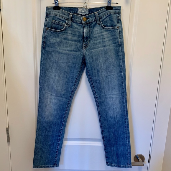 Current/Elliott Denim - Current/Elliott 'The Fling' Slim Boyfriend Jeans